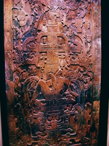 Sarcophagus lid of the Mayan ruler K'inich Janaab' Pakal of Palenque