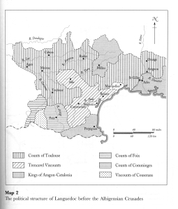 The regions of France in the eleventh and twelfth century
