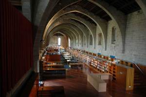 Interior of the Biblioteca de Catalunya, Barcelona