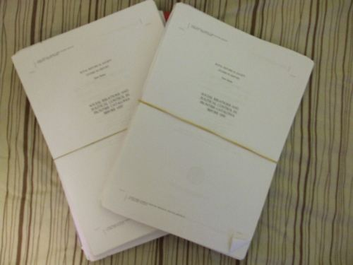 Two proof copies of Jonathan Jarrett, Rulers and Ruled in Frontier Catalonia