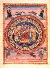 Christ in Majesty in the Codex Amiatinus