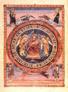 Christ in Majesty in the Codex Amiatinus