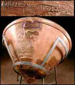 A jar bearing the name of Decebalus, last King of the Dacians