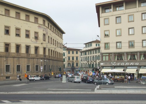 Police station and Hotel Boccaccio, Florence