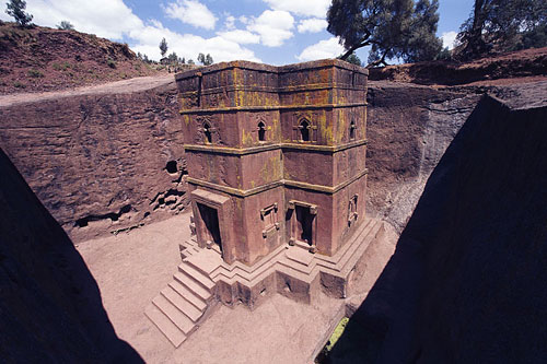 Bet Giorgis church, Lalibela, Ethiopia