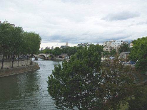 View of the Seine, Paris