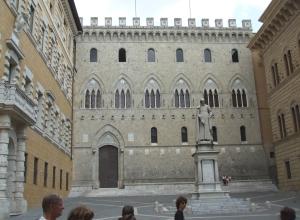 Monte dei Paschi di Siena Bank building
