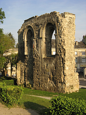 The ruins of Notre-Dame de Soissons