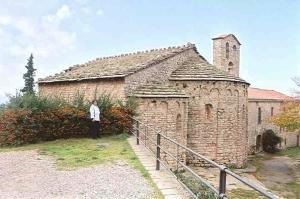 The hermitage of Santa Cecília de Montserrat