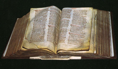 The manuscript of Greater Domesday