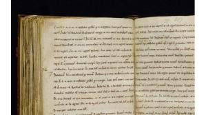 A page from the Exon Domesday