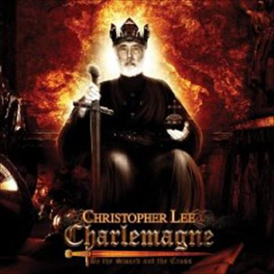 Cover of Christopher Lee's Charlemagne: by the sword and the cross