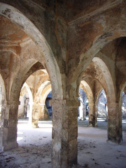 Ruins of the Great Mosque at Kilwa Kisiwani