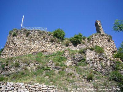 The remains of Castellnou de Carcolzes