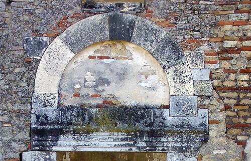 Portal of the church at Villamagna
