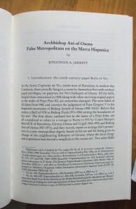 """1st page of Jarrett, """"Archbishop Ató"""""""