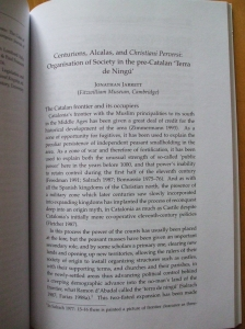 "First page of Jarrett, ""Centurions, Alcalas and Christiani Perversi"""
