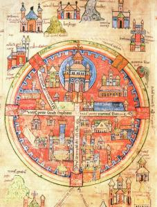 (High) medieval map of Jerusalem