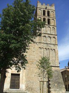 Southern belltower of Santa Eulàlia d'Elna