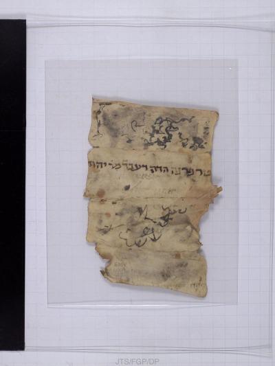 New York, Jewish Theological Seminary, E. N. Adler MS 4009 2