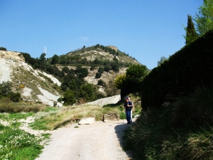 Setting out to climb the Turó del Castell de Gurb