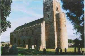 All Saints' Brixworth, usually held the oldest Anglo-Saxon Church substantially standing