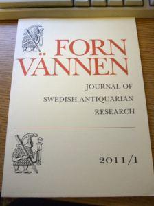Fornvännen issue 2011/1