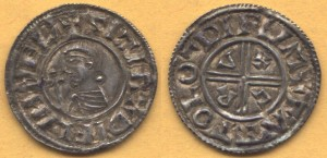 Hiberno-Norse penny of c. 997, presumably Dublin mint, imitating contemporary money of Æthelred the Unready