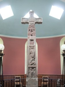 The Ruthwell Cross, now in Ruthwell Parish Church (ironically?)