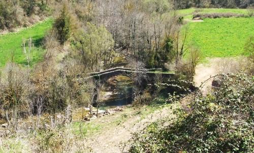 Romanesque bridge over the Riera de Vallfogona