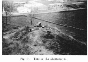 Excavations at la Muntanyeta, Roda de Ter, 1973