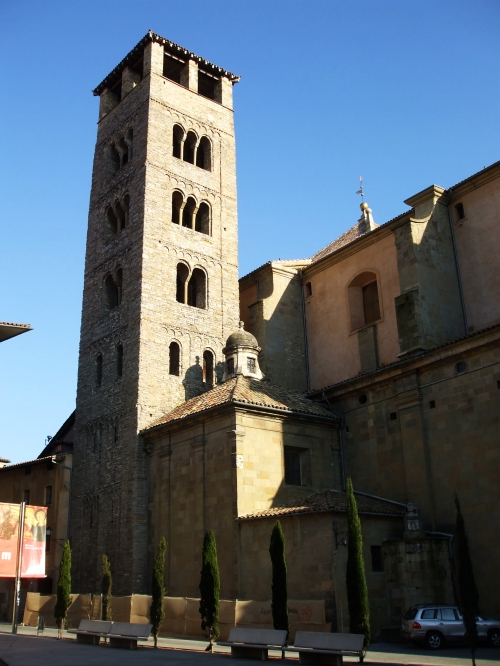 Belltower of the Catedral de Sant Pere, Vic