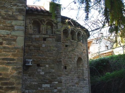 Apse of Sant Pere de Savassona
