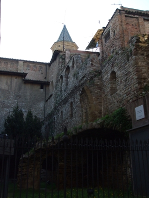 Ruins of the Castell dels Montcada, Vic