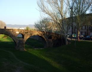 Southern part of the Pont de Queralt, Vic