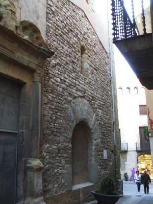 Façade of Sant Sadurní de Vic, now attached to the Església de la Pietat