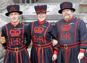 Yeomen Warders at the Tower of London