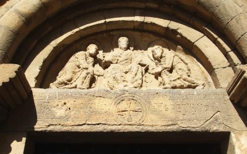 Timpanum at Sant Pau del Camp
