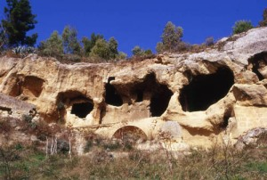 Byzantine-era cave settlement in Canalotto, Sicily