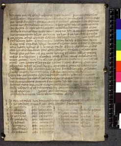 Charter of King Offa of Mercia for the Kentish abbey of Lyminge, done at a synod in Kent (Sawyer 123)