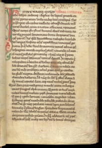 Page from a c.1150 manuscript of Dudo of St-Quentin's History of the Normans in the British Library