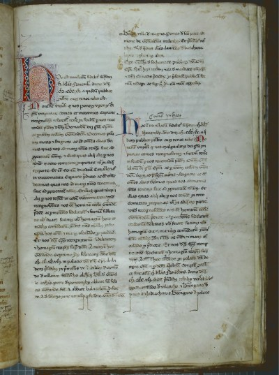 A page from the Cartoral de Carlemany of the Arxiu Diocesà de Girona