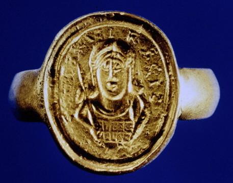 Signet ring of King Childeric of the Franks