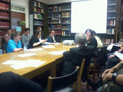 Attendees of the Earlier Middle Ages Seminar at the Institute of Historical Research