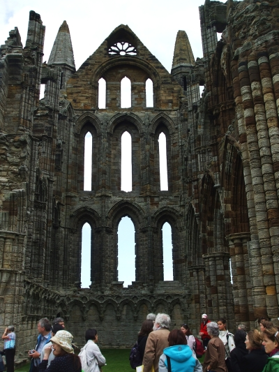 North transept of Whitby Abbey
