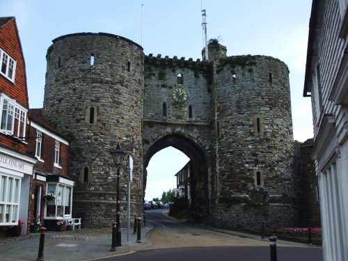 The Landgate in Rye, East Sussex