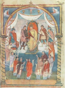 Portrait of Charles the Bald in the so-called Vivian Bible