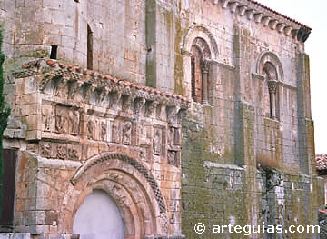 San Quirce de Burgos, including its intriguing portal