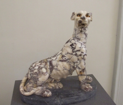 Porphyry dog in the Museo Arqueologica Nazionale