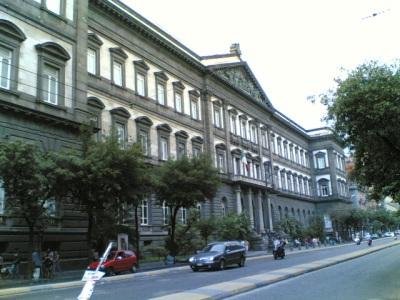 Frontage of the Università degli Studi di Napoli Federico II